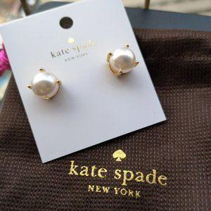 Kate Spade Elegant Pearl Earrings